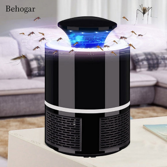 Mosquito Killer lamp Behogar Photocatalyst Electric USB Bug Insect fly Anti Moustique Killing Trap Repeller