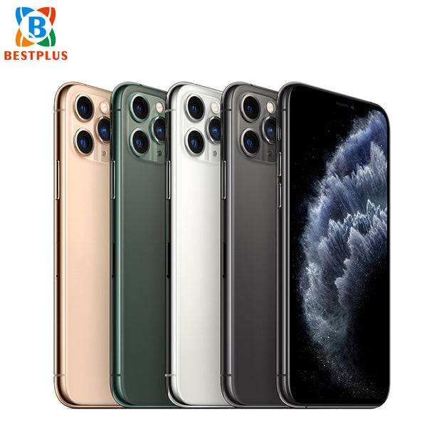 "Apple iphone 11 pro A2217 5.8"" 4GB RAM 256GB ROM Triple Rear Camera 1125 x 2436 pixel Hexa-core dual SIM"