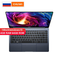 Laptop CHUWI Original LapBook Pro 14 Inch Windows10 Gemini-Lake N4100 Quad Core 4GB RAM 64GB ROM