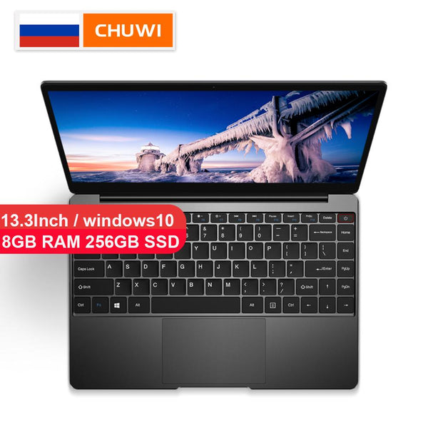 Laptop CHUWI Originl AeroBook Intel Core M3 6Y30 13.3 Inch Windows10 8GB RAM 256GB SSD Backlit KB Notebook