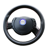 Car steering wheel cover Diameter 36cm 38cm 40cm /Wholesale Supply Do Not Fade handlebar braid Leather Steering-Wheel