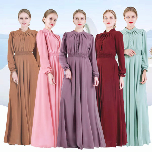 Women Abaya Turkey Hijab Dress Islamic Clothing Caftan