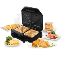 Electric Sandwich Waffle Maker BBQ Grilling Plate Toaster Breakfast Machine Barbecue Oven Bread Maker Multicooker Kitchen Grill - inaaz.biz