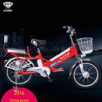 Electric bicycle 20 24 inch 60V speed 30km range 35 km removable lithium battery charging electric bicycles