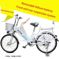 Electric bicycle 20 24 inch 60V speed 30km range 35 km removable lithium battery charging electric bicycles - inaaz.biz