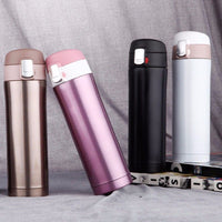 Fashion Stainless Steel Vacuum Flasks 500ml Thermos Cup Coffee Tea Milk Travel Mug Stainless Steel Thermo Bottle for Christmas - inaaz.biz