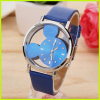 Fashion luxury Brand Quartz Watches Cartoon Watch Women Casual Leather Girls Kids Wristwatches gifts Clock Relojes hombre 2018
