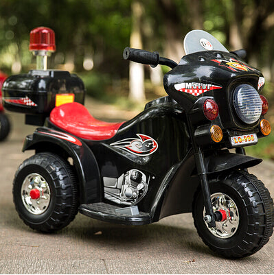 Tricycle New Children Electric Motorcycle, Baby Stroller With Alarm Music, Toy Car - inaaz.biz