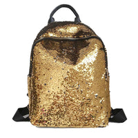 Glitter Bling Sequins Backpack Women Large Capacity Mochila Feminina 2019 Leather Backpack For Girls Travel School Bags XA113H - inaaz.biz