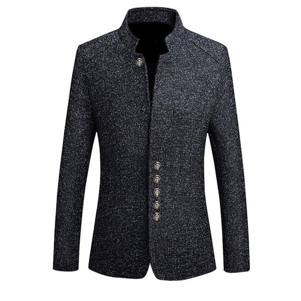 Men Coat HEFLASHOR Blazers Autumn Casual Suits High Quality Men Coat M-5XL - inaaz.biz