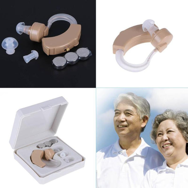 Hearing Aid Small Hearing Aids For The Elderly Best Sound Voice Amplifier Invisible Mini Convenient Behind Ear Hearing Aids