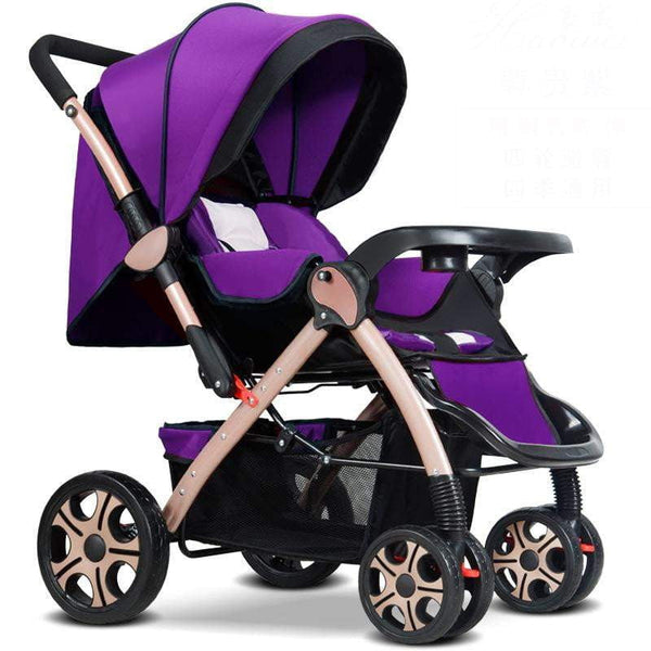 High Landscape Baby Stroller  Super Portable Folding  carriage light EU baby stroller newborn stroller - inaaz.biz
