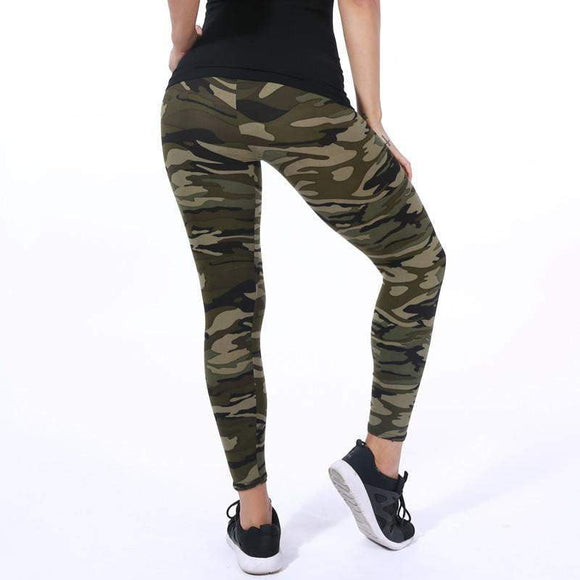 cfdf4e87c4b High Quality Women Leggings High Elastic Skinny Camouflage Legging Spring  Summer Slimming Women Leisure Jegging Pants