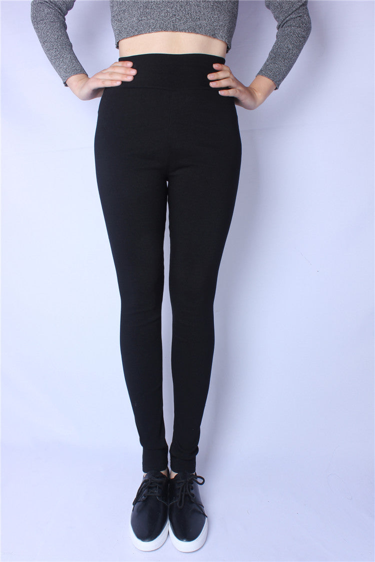 e432f756149aa High Stretch Denim Leggings Women Spring Pants Plus Size Jeans Leggings  Casual Elastic Pencil Pants Women's Clothing Trousers