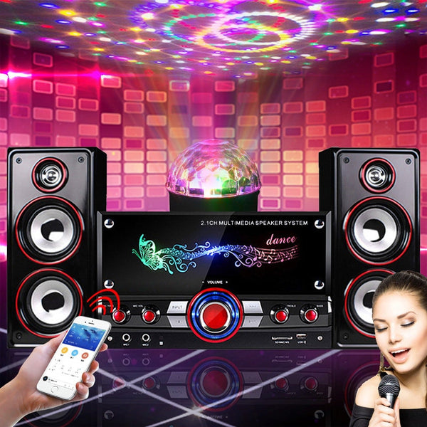 Home Party Wireless HIFI System Karaoke Bluetooth Devices 3D