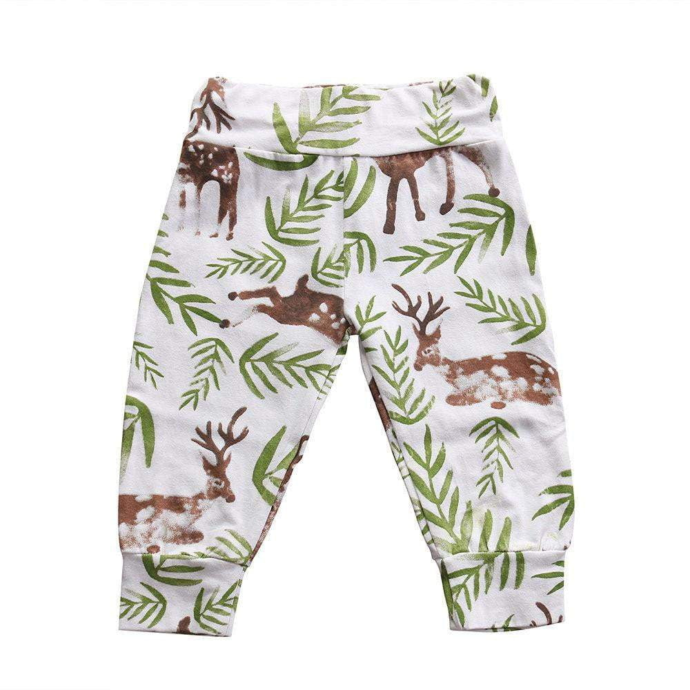 25803e631 Home Toddler Infant Baby Boys Girls Cotton Cute Animals Pants Flower  Trousers Pants Baby Girl