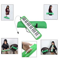 Mouth Organ Accordion  IRIN 32/37 Key Piano With Carrying Case , Blow Key Board  Instrument