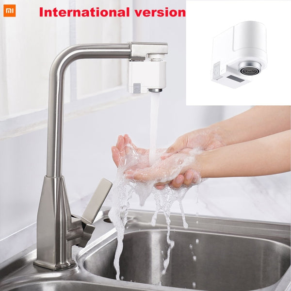 Water Saving Faucet, Xiaomi ZJ / xiaoda Automatic Sense Infrared Induction Water Saving Intelligent Sink Faucet - inaaz.biz
