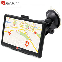 Junsun 7 inch HD Car GPS Navigation Capacitive screen FM 8GB Vehicle Truck GPS Car navigator Europe Sat nav Lifetime Map