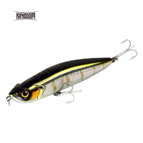 Kingdom Fishing Lure 100mm 20.5g 31.5g Floating And Sinking Pencil Wobblers Long Casting Hard Bait