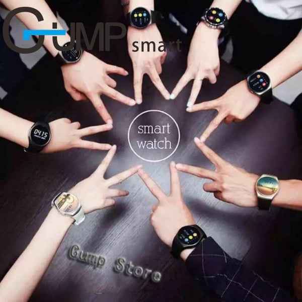 Smart Watch Kingwear KW18 Round Screen SIM TF card Heart rates music bluetooth IOS Android - inaaz.biz
