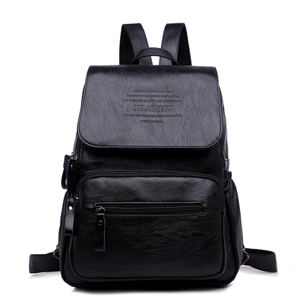 LANYIBAIGE 2019 Women Backpack Designer high quality Leather Women Bag Fashion School Bags Large Capacity Backpacks Travel Bags - inaaz.biz