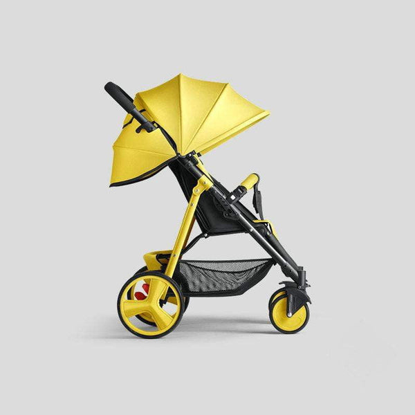 Lightweight 5.9KG Baby Stroller, Urltra Light Baby Pram with Super Shock Absorption, steel frame Baby Carriage with EVA wheel - inaaz.biz