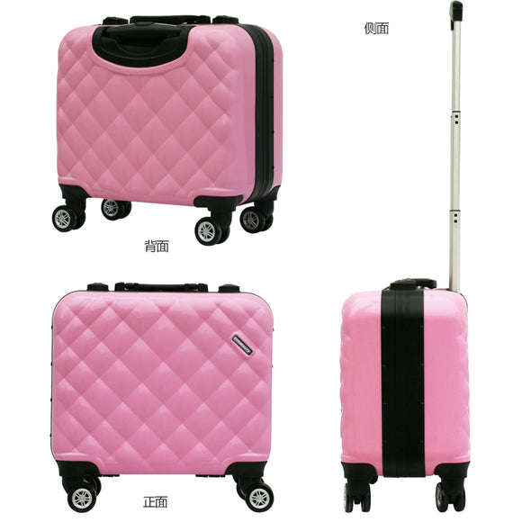 Lovely 4 Colors Cosmetic bag with Lights girl students trolley case Travel luggage woman rolling suitcase Makeup Bag with Mirror