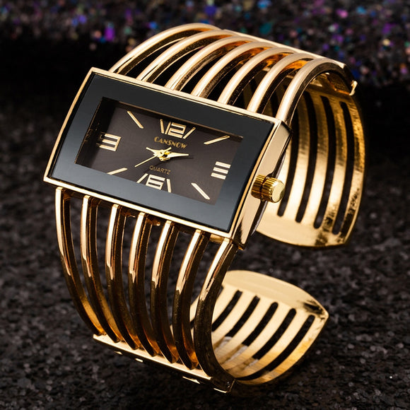 Luxury Gold Wrist Watches Women Bangle Bracelet Watches Casual Ladies Clock Hodinky Montre Femme Saati Relogio Feminino Relojes