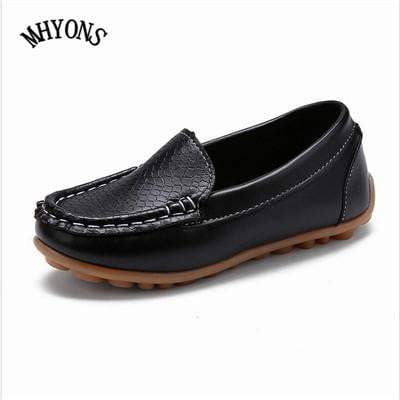 MHYONS Children Boy's Girl Baby Shoes Slip-on Loafers Flats Spring Autumn Fashion Boys Sneakers for Toddler/Little Kid/Big Kid - inaaz.biz