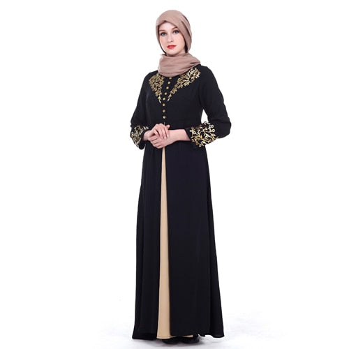 Abaya Muslim Dress MISSJOY Dubai Kaftan Women Arabic Lace Cardigain Patchwork Islamic Prayer Dress