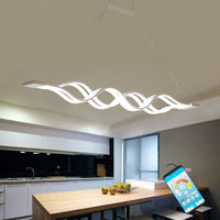 Modern LED Pendant Lights Dining Room Kitchen Fixtures Bedroom Decor Hanging Chandelier - inaaz.biz