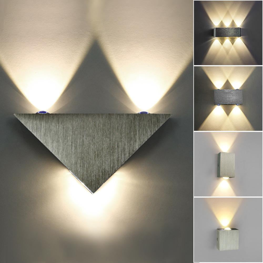 Led Lamps Modern Led Wall Lamp Wall Sconces Indoor Stair Light Fixture Bedroom Bedside Living Room Home Hallway Loft Table Study