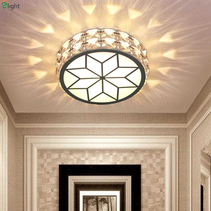Modern Simple Acrylic Living Room Led Ceiling Chandeliers Light