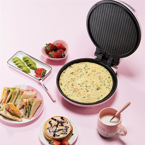 Multi Cookers Convenient Fast Electric Skillets 1000W Crepe Makers High Quality Cooking Appliances Crepe Makers Pink - inaaz.biz