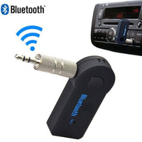 NOYOKERE Bluetooth 3.0 Car Kit Wireless 3.5mm Streaming Car Auto Audio Music Receiver Video Player Function Microphone USB - inaaz.biz