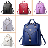 Nevenka Anti Theft Leather Backpack Women Mini Backpacks Female Travel Backpack for Girls School Backpacks Ladies Black Bag 2019