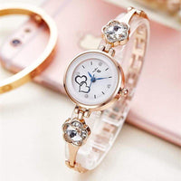 New Fashion Rhinestone Watches Women Luxury Stainless Steel Quartz Watch Women Dress Bracelet Watches Ladies Clock relojes AC073 - inaaz.biz