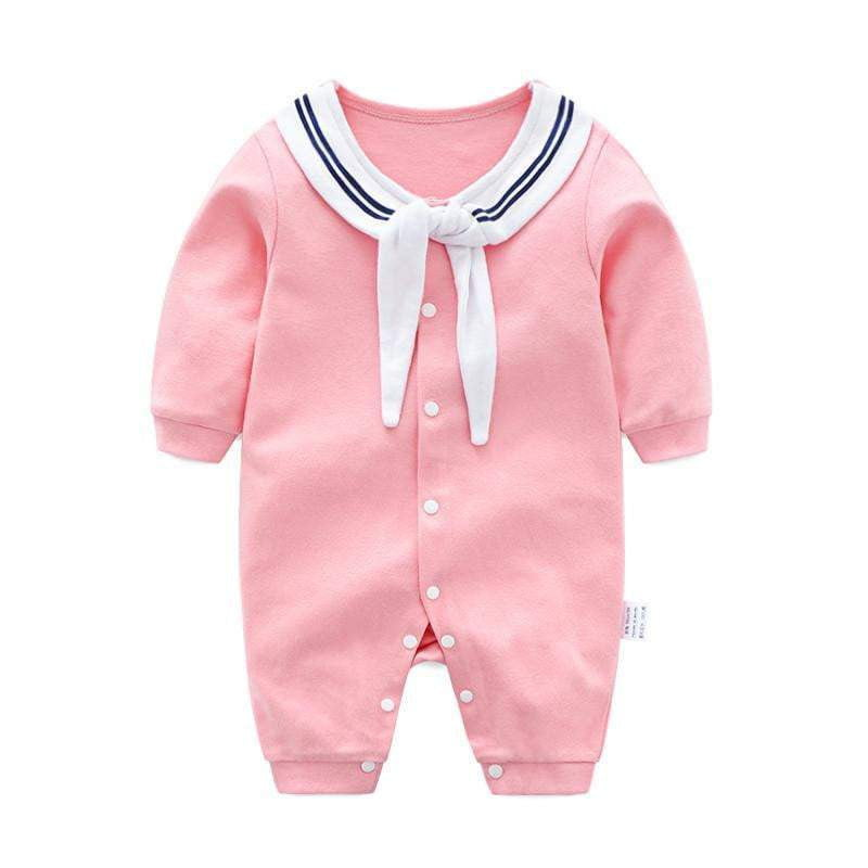 bb3cbe8252e5 Newborn Baby Girl Clothing Rompers 100% Cotton Long Sleeve Romper Warm Outfits  Clothes Baby Girls ...