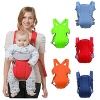 Newborn Ergonomic Baby Carrier Breathable Adjustable Wrap Baby Ring Sling Infant Backpack Carrying Stroller Kangaroo <15 kgs - inaaz.biz