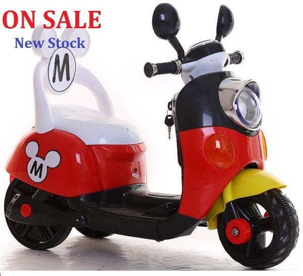 Mickey Child ride on electric toy motorcycle bike For 1-5 years baby