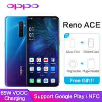 Smartphone OPPO Reno Ace Google Play NFC Global ROM  8GB 128GB 48.0MP 65W Super VOOC 90HZ GPS WIFI