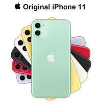 "Original New Apple iPhone 11 Dual 12MP Camera A13 Chip 6.1"" Liquid Retina Display IOS Smartphone LTE 4G"