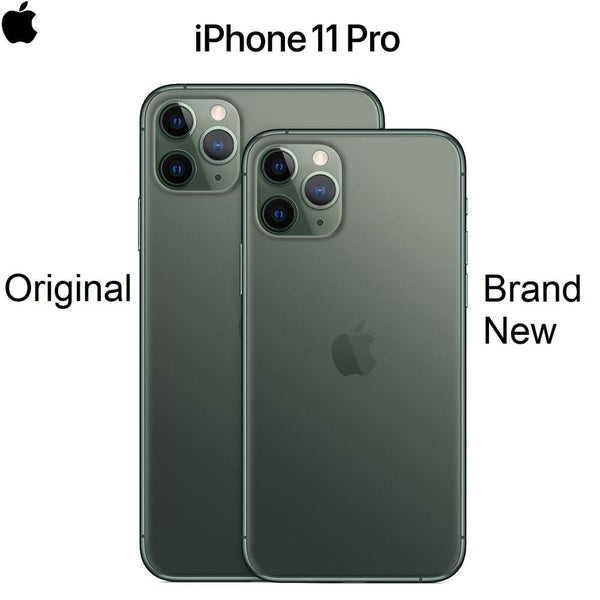 "Original New iPhone 11 Pro/Pro Max Triple Rear Camera 5.8/6.5"" Super AMOLED Display A13 Chipset IOS 13 Smart Phone"