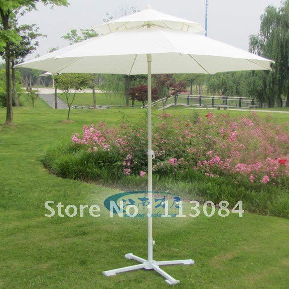 Outdoor big beach / sun / rain / UV-resistance / garden umbrella in beautiful style
