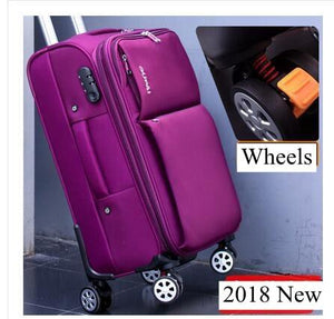 6b21fc2fc94 Oxford Spinner Suitcases Travel Luggage Suitcase Men Travel Rolling. Deuter  Helion 80 Wheeled Travel Bag ...