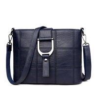 PHTESS Luxury Plaid Handbags Women Bags Designer Brand Female Crossbody Shoulder Bags For Women Leather Sac a Main Ladies Bag