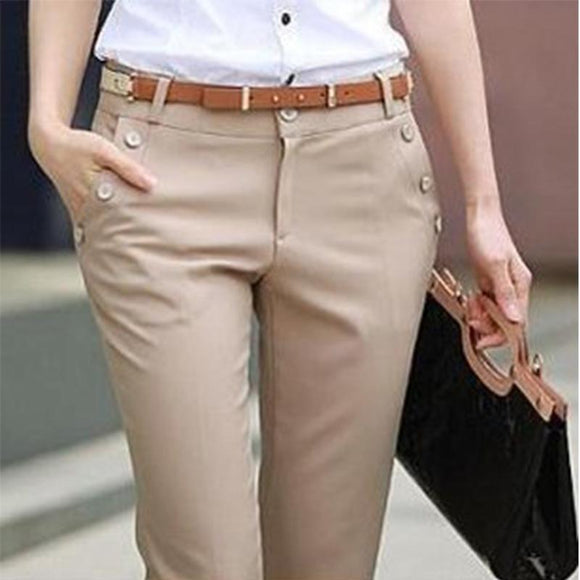 Plus Size Trousers Women Pants Spring Summer Casual Ol Formal Harem