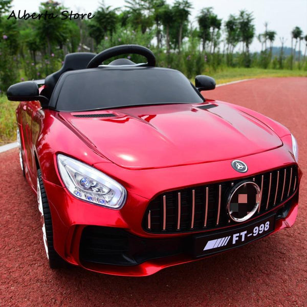 RC Toys Ride On Car Children 2.4G Electric Car Four Wheel Double Drive Education Toy Super Car