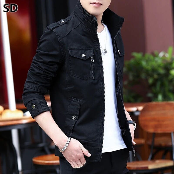Men Jacket  bomber jackets Men's Spring Autumn jackets and coats New Fashion  windbreakers